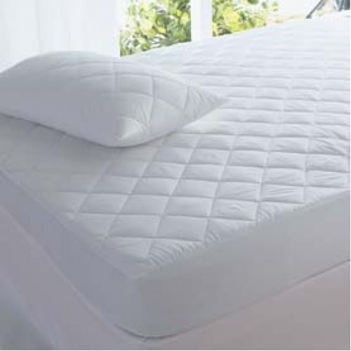 MICROFIBER QUILTED Pillow Protector Pair