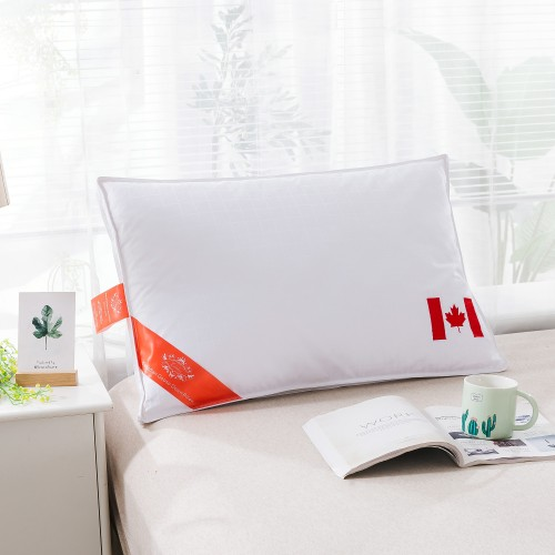 100% Canadian Goose Down Pillow