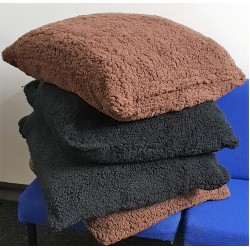 SHERPA TEDDY FLEECE  CUSHIONS