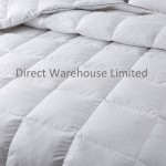 GOOSE FEATHER & DOWN DUVET QUILT 15 TOG ALL SIZES