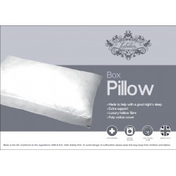 LUXURY HOLLOWFIBRE BOX PILLOW ANTI-ALLERGY