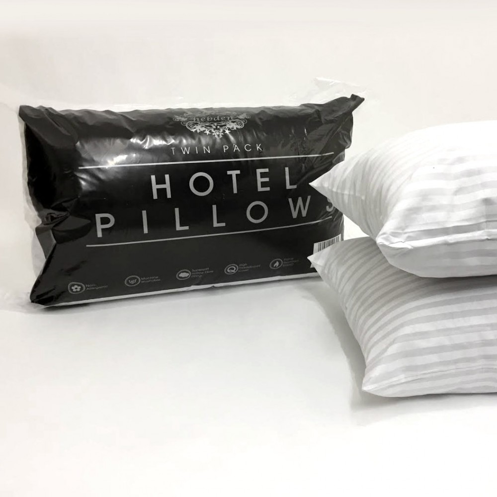 Hotel Stripe Bed Pillows Hotel Quality