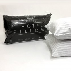 Hotel Stripe Bed Pillows
