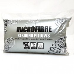 Microfiber Rebound Pillows  - Pack of 4
