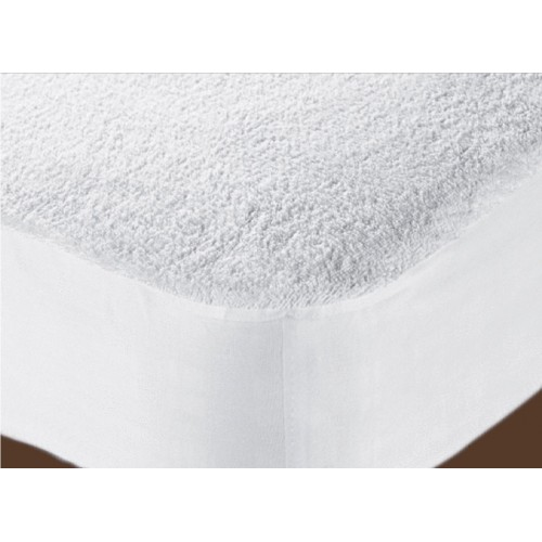 WATERPROOF TERRY TOWELING MATTRESS PROTECTOR - 5 SIZE