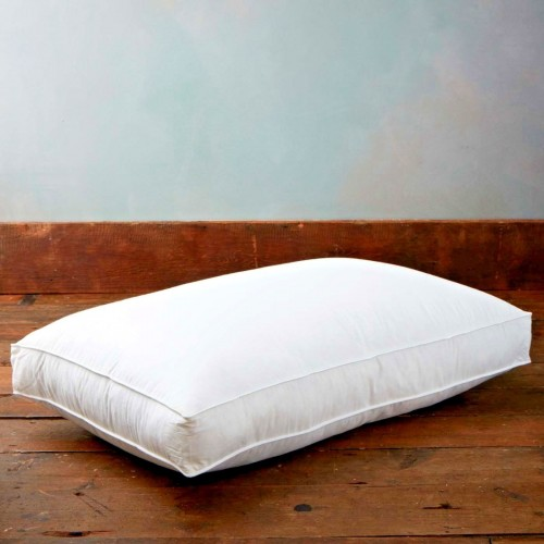 GOOSE FEATHER & DOWN BOX PILLOW
