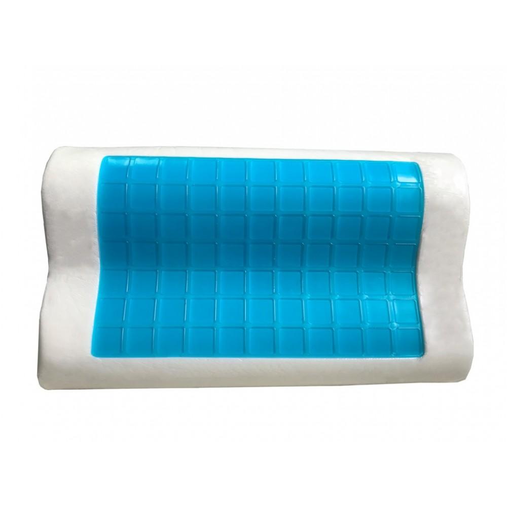 Contour Cooling Gel Memory Foam Pillow