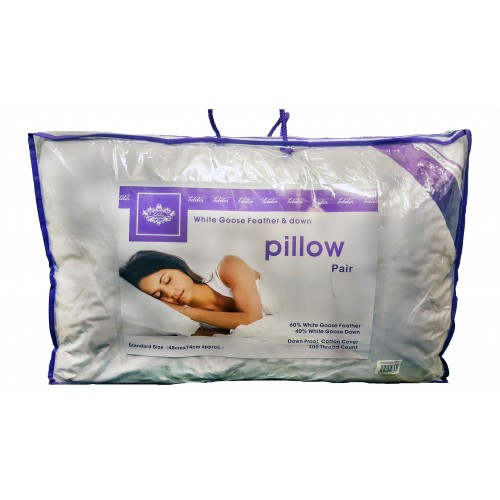 Goose Feather & Down Pillows 60/40