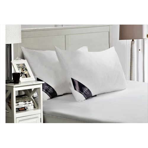 Duck Feather & Down Pillows Microfibre Cover