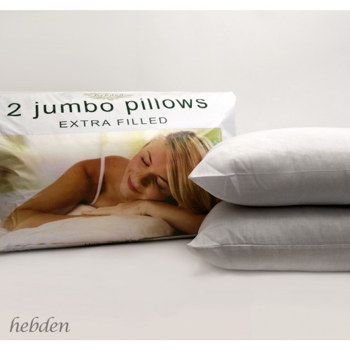 Extra Filled Jumbo Pillows
