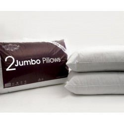 Super Jumbo Extra Filled Quilted Pillows Hotel Quality