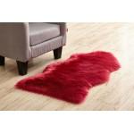 Fluffy Plain Sheepskin Rug Soft Faux Fur Shaggy Area Rugs Room Mats Wool